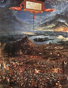 The Battle of Alexander by Albrecht Altdorfer (1529)