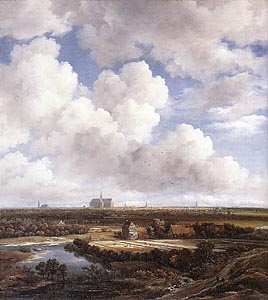 View of Haarlem with Bleaching Grounds by Jacob Isaakszoon van Ruysdael (c 1965)