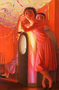 Jukebox by George Tooker (1953)